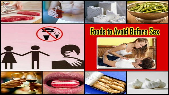 Foods to Avoid Before Sex