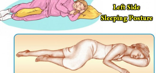 Left Side Sleeping Posture