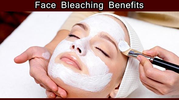Face Bleaching Benefits