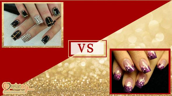 Gel Nails VS Acrylic Nails