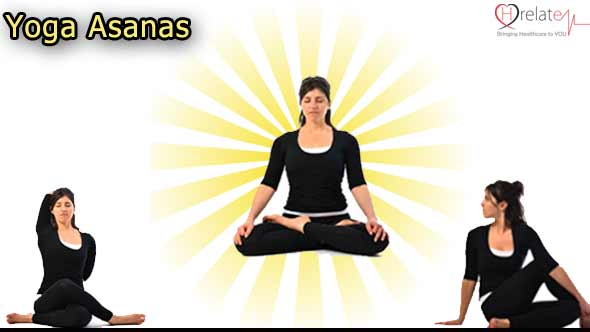 Yoga Asanas in Hindi