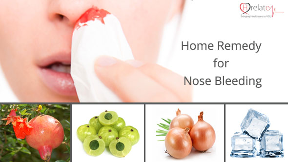 Home Remedy for Nose Bleeding