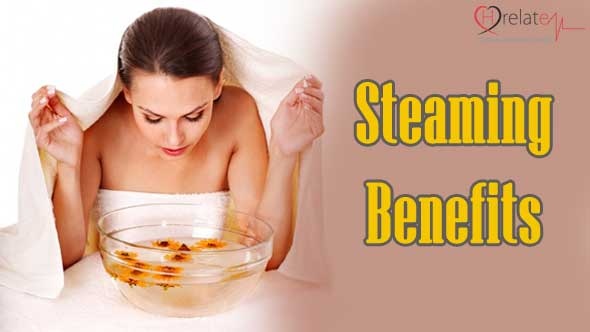 Steaming Benefits in Hindi