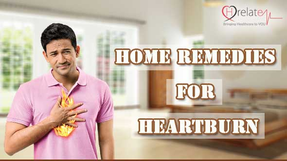 Home Remedies for Heartburn in Hindi