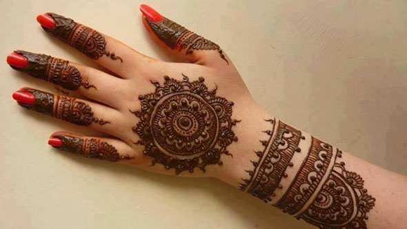 Bangle Style Mehndi Design
