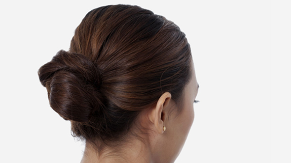 Hairstyles in Hindi-Bun