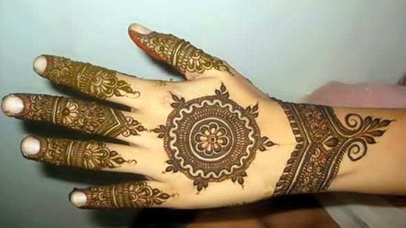 Indo – Arabic Mehndi Designs