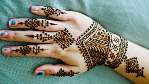 Moroccan Mehndi Designs