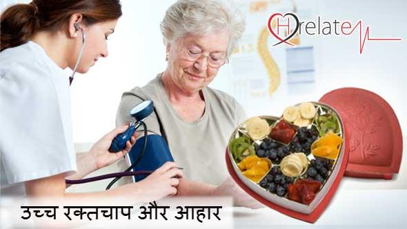 High Blood Pressure Diet in Hindi
