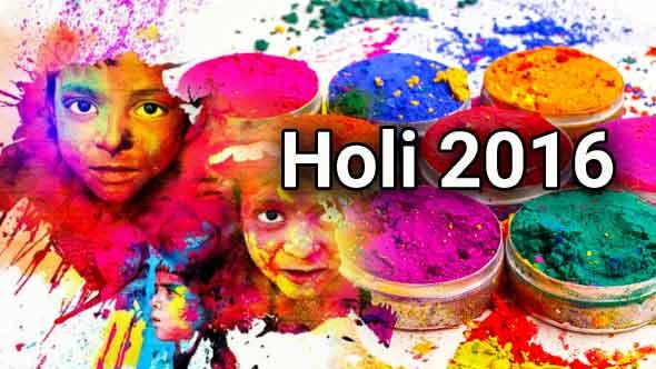 Holi 2016
