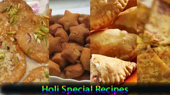 Holi Special Dishes Recipes in Hindi