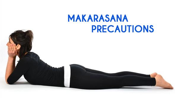 Makarasana – The Crocodile Pose ~ Vazhga Valamudan