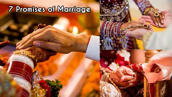 7 Vows Of Marriage in Hindi