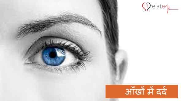 Eye Pain in Hindi