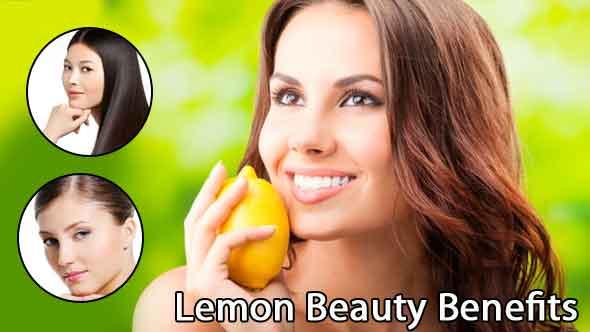 Lemon Beauty Tips for Hair & Skin