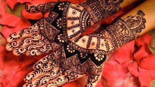 Simple and Sweet Mehndi