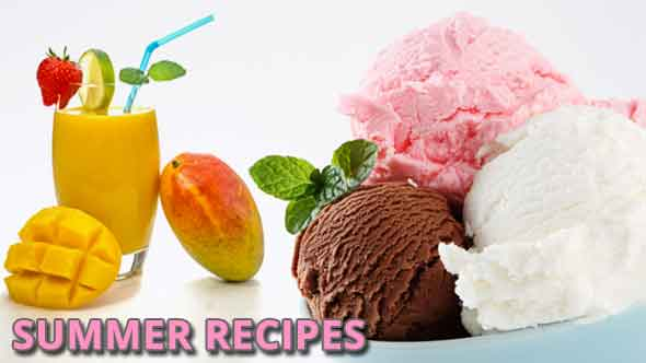 Summer Food Recipes in Hindi