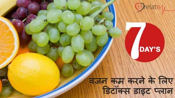 Detox Diet Plan in Hindi