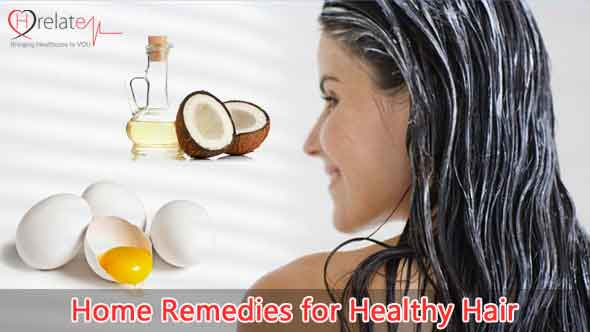 Home Remedies for Healthy Hair Tips