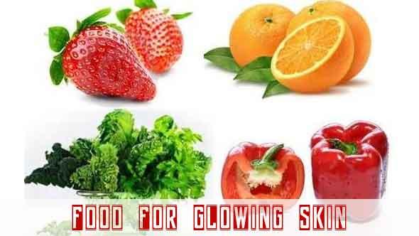 glowing skin food
