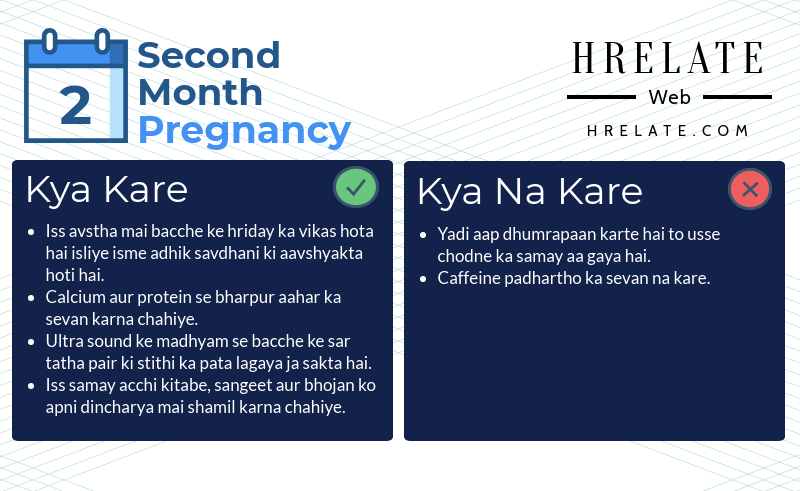 Second Month Pregnancy in Hindi