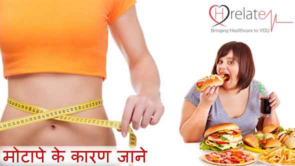 Causes of Obesity in Hindi