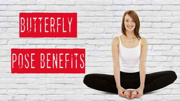 Butterfly Yoga Pose Benefits In Hindi