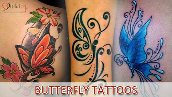 Butterfly Tattoos in Hindi