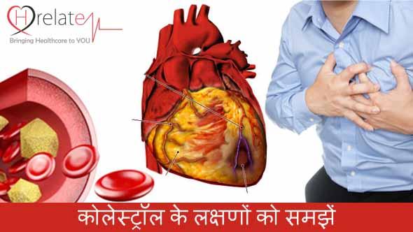 Cholesterol Symptoms in Hindi