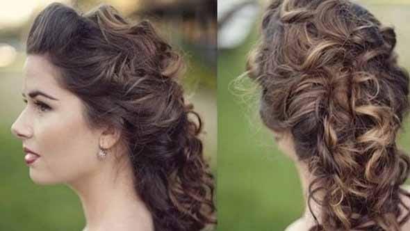 Curly Hairstyles - Hippi Choti
