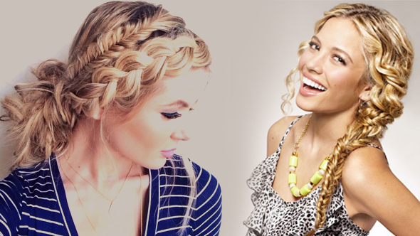 Curly Hairstyles - Traditional