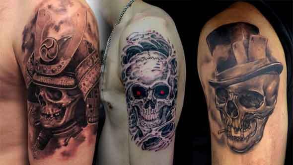 Skull Tattoos for Men in Hindi