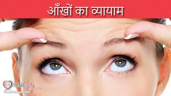 Eye Exercises in Hindi