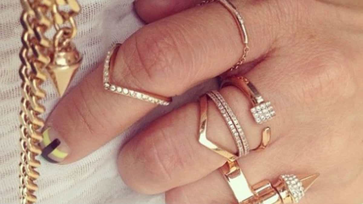 Layerd Rings - Hand Accessories
