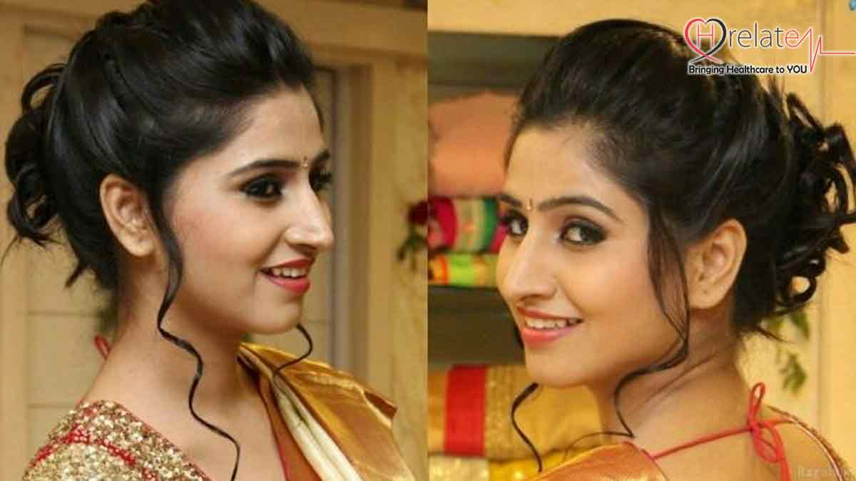 Hair Style for Saree