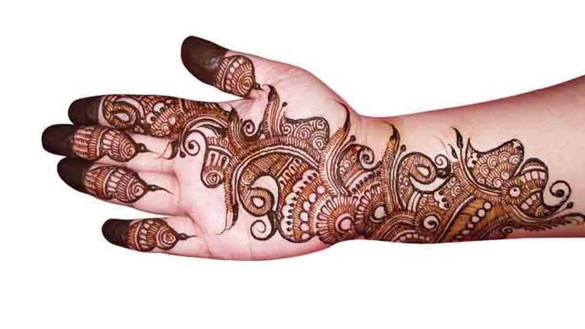 Indo-Arabic-Mehndi-Design