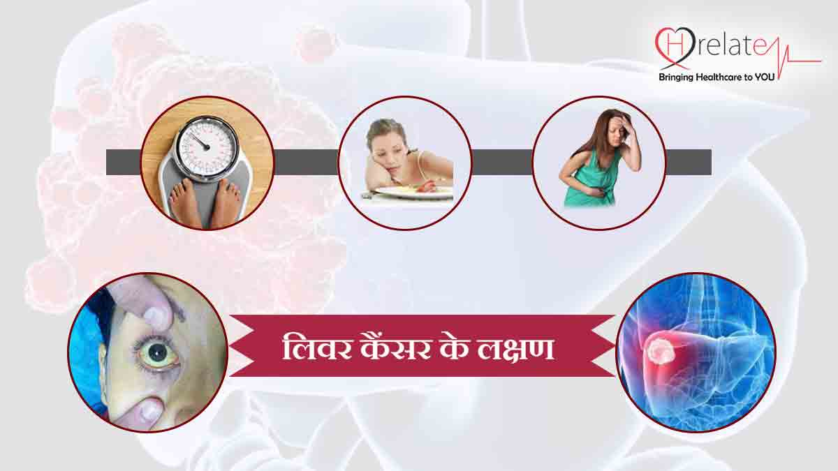 Liver Cancer Symptoms in Hindi