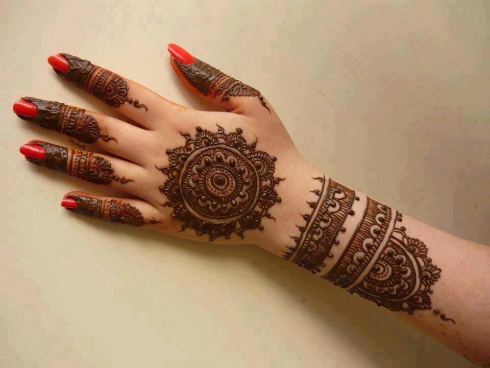 Mandla Mehndi Design