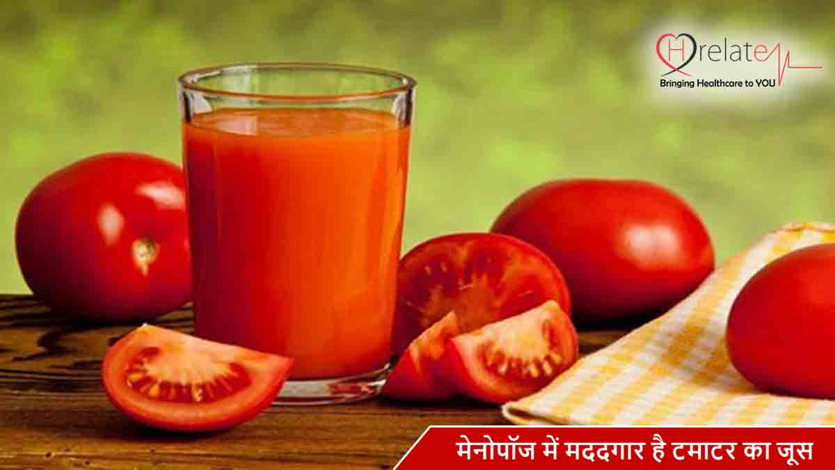 Tomato Juice for Menopause