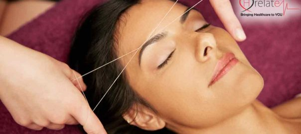 How to do Face Threading at Home