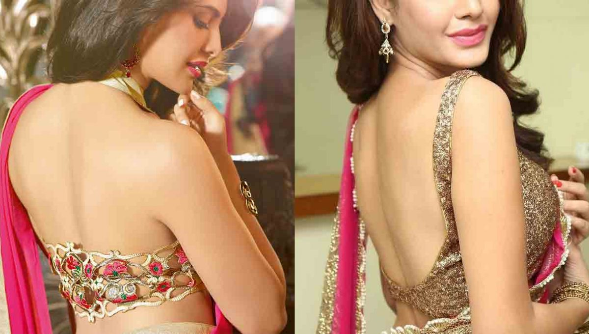 Backless Blouse Designs – Jacqueline Fernandez – Image 2