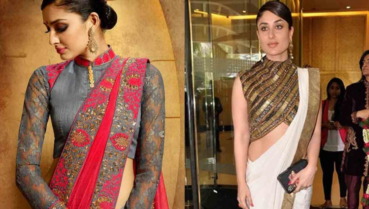 High Neck Lehenga Blouse Designs – Kareena Kapoor – Image 4