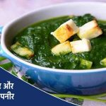 Palak Paneer Recipe in Hindi